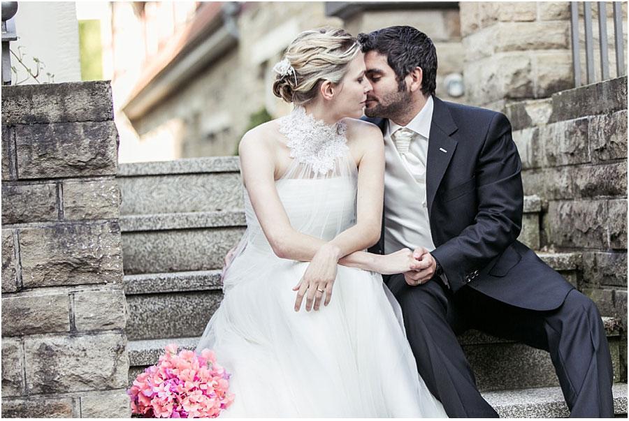 Hochzeitspaar-Shooting