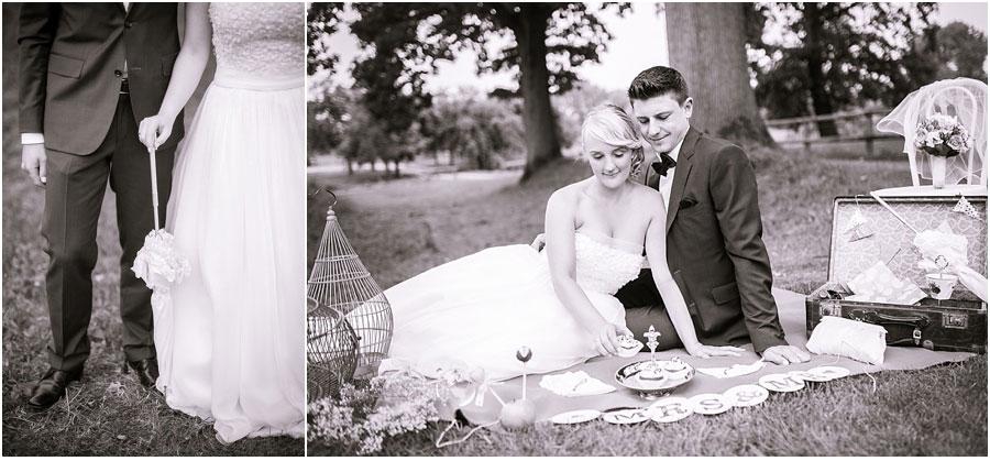 Vintage-Hochzeitsfoto