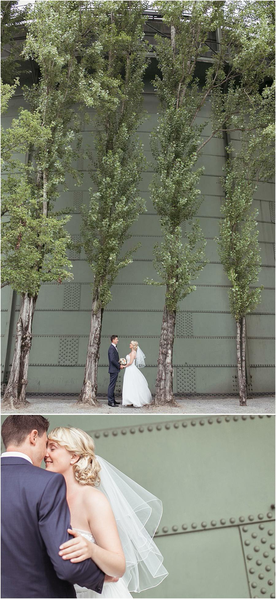 Hochzeitspaar-Portrait
