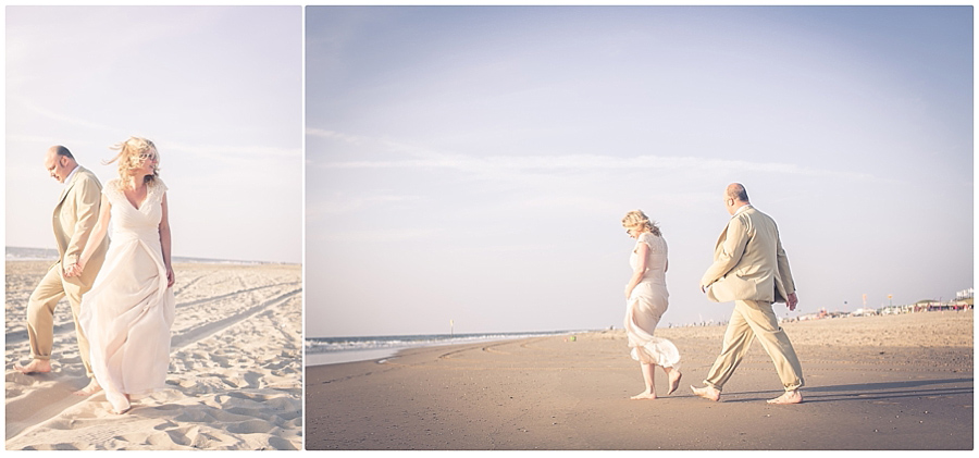 Strand-Brautpaar-Niederlande