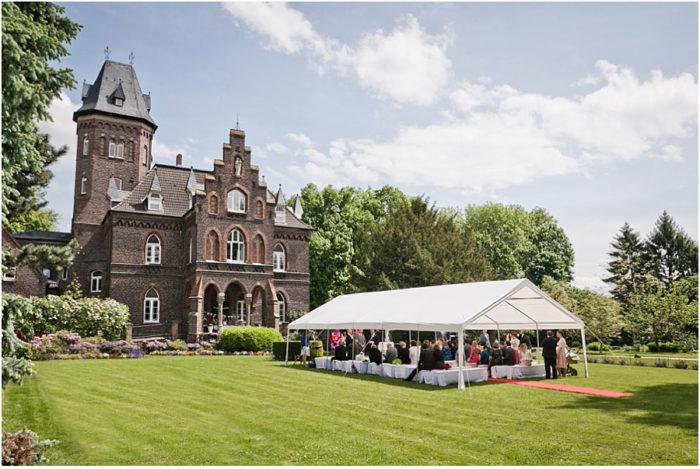 Hochzeit auf der Marienburg / Monheim am Rhein
