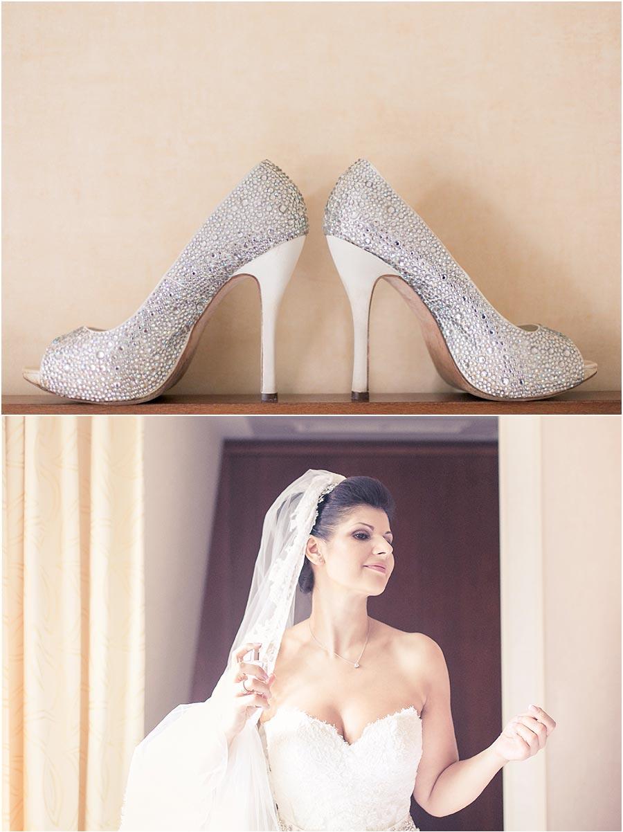 Hochzeitsschuhe-Braut