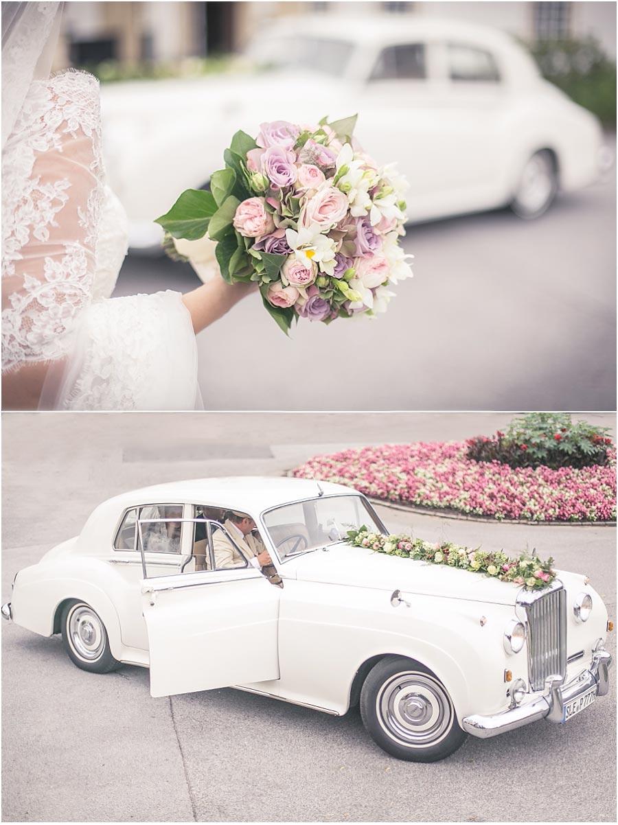 Oldtimer-Hochzeit