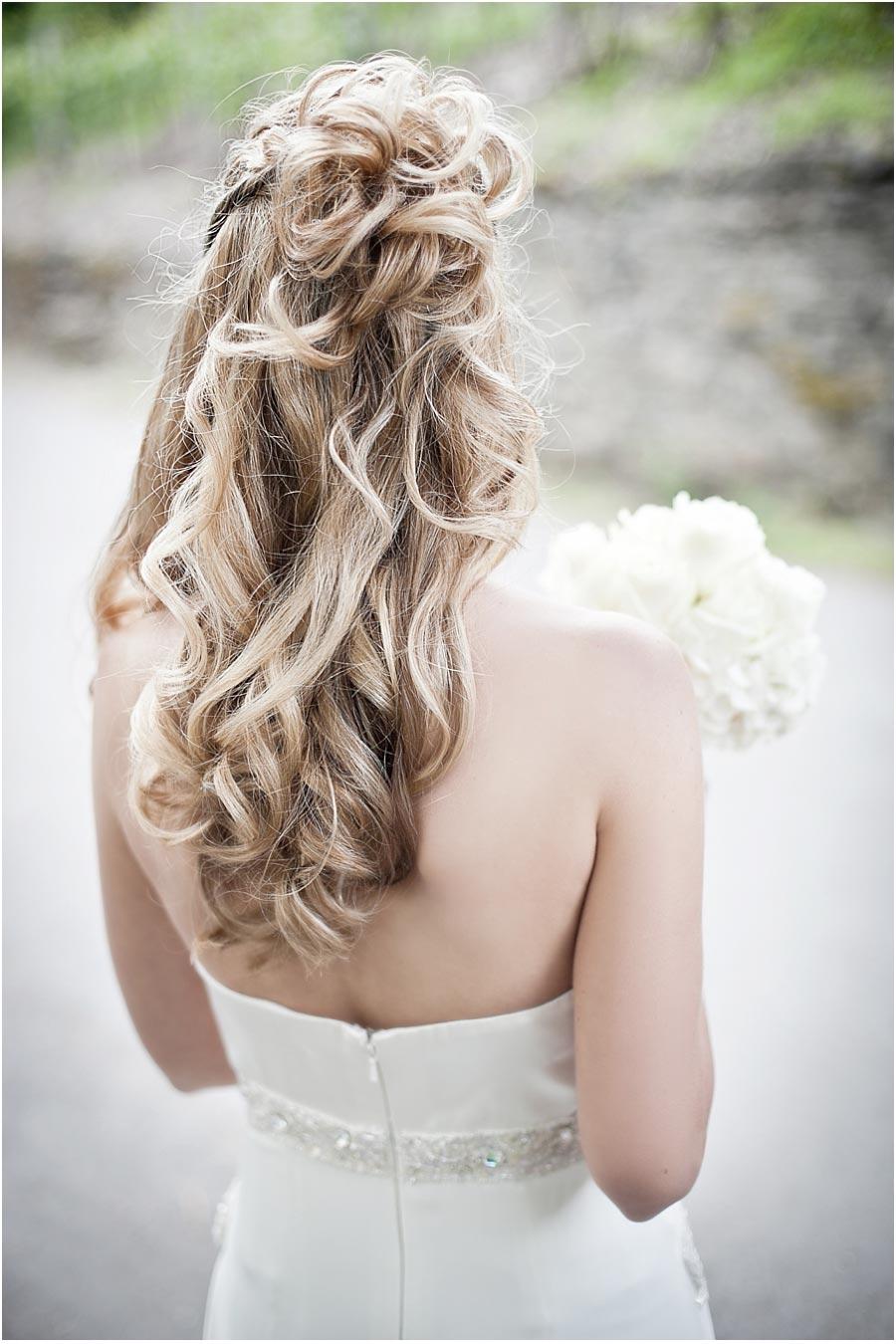 Braut-Frisur-Hochzeit