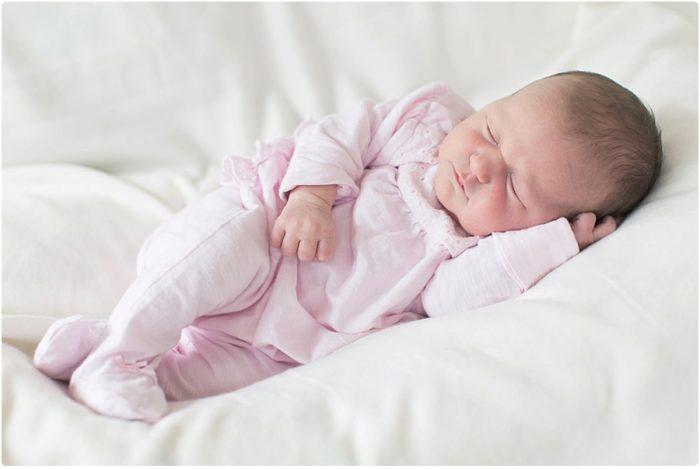 Baby Anna ist da / Neugeborenen Shooting